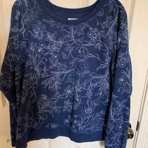 Old Navy Floral Sweatshirt